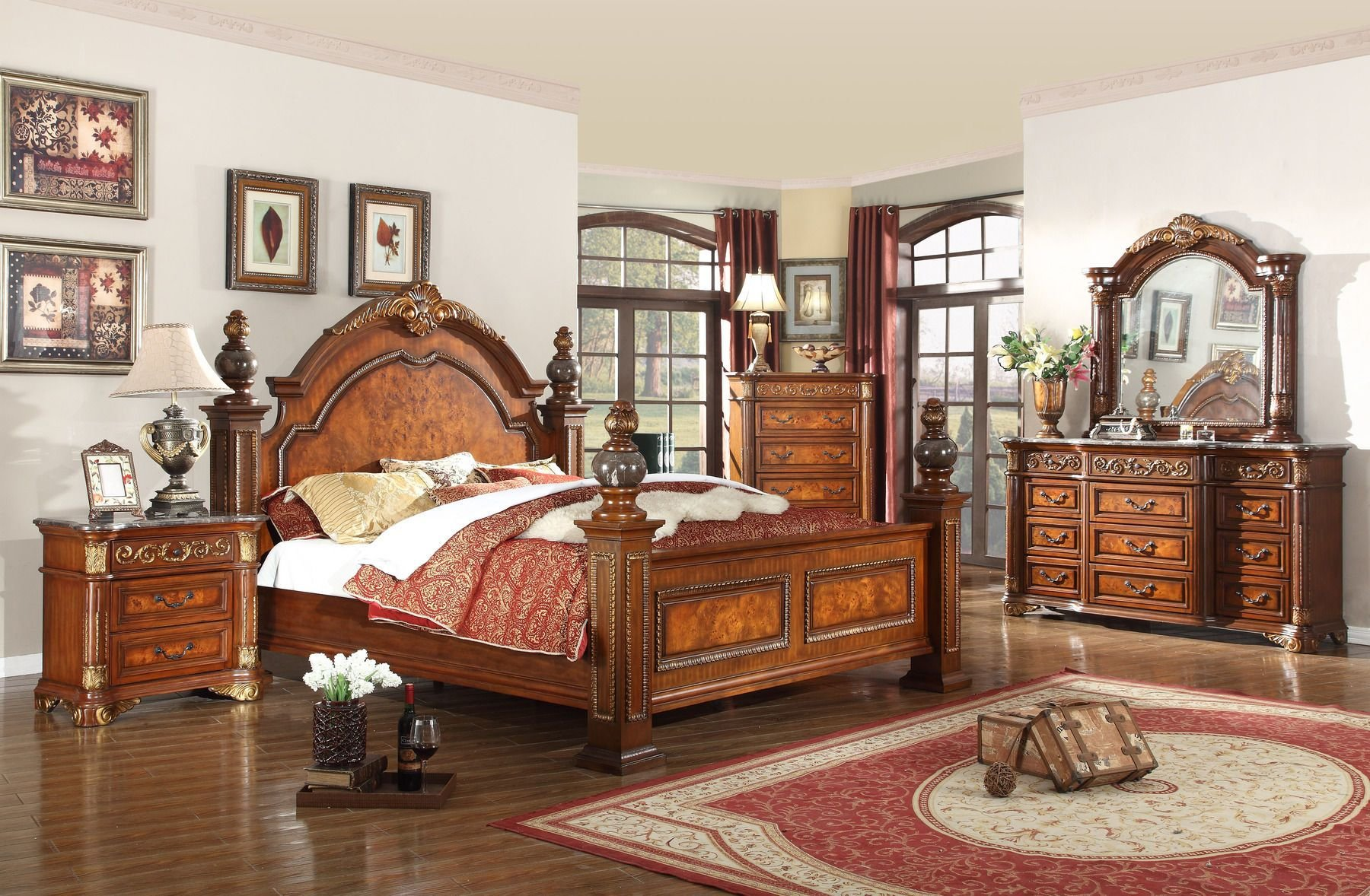 Best Royal Queen Size Bed Royal Meridian Furniture Modern Beds With Pictures