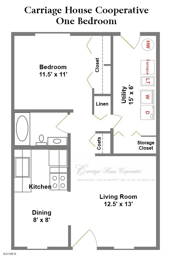 Best Floor Plans Carriage House Cooperative With Pictures
