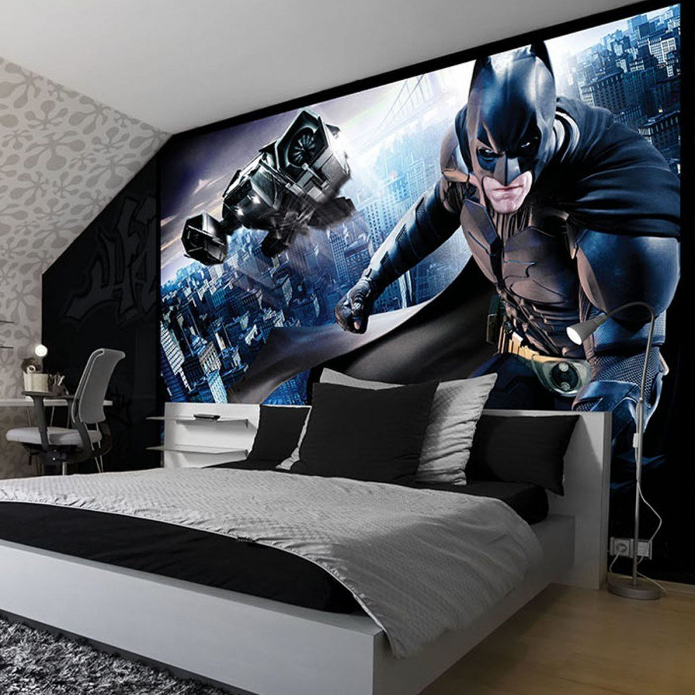 Best Amazing Batman Themed Rooms You'd Want For Your Own – Wow With Pictures