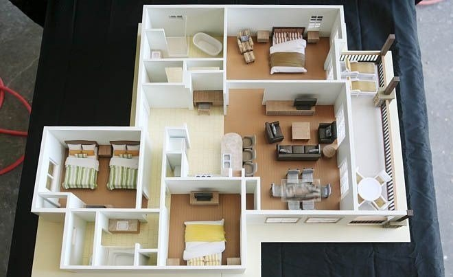 """Best 50 Three """"3"""" Bedroom Apartment House Plans With Pictures"""