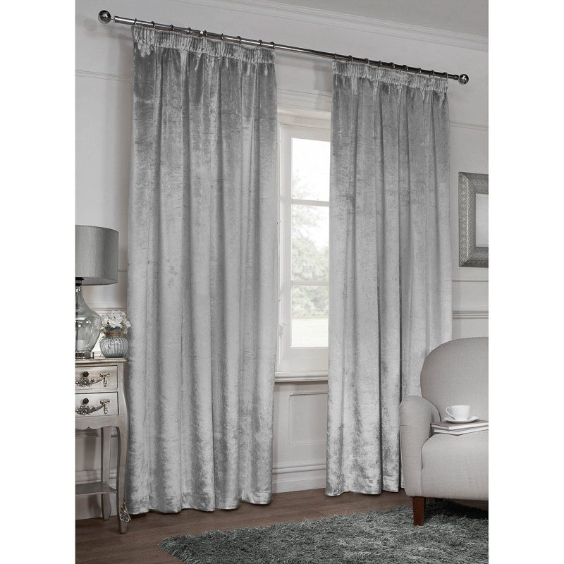 Best Versailles Crushed Velvet Fully Lined Curtains 90 X 90 With Pictures