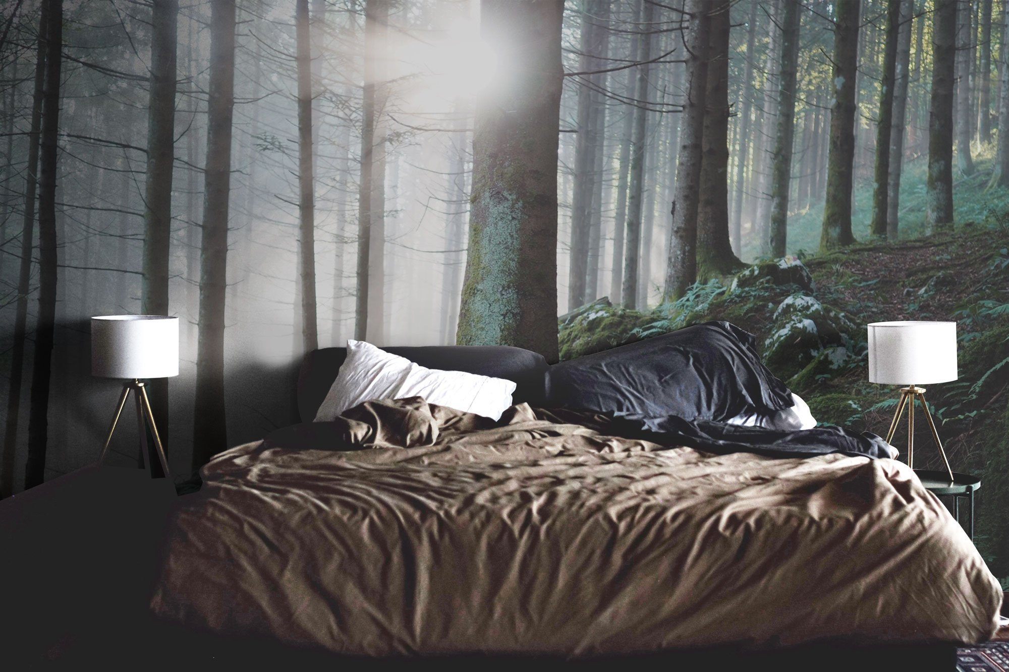 Best Bedroom Wall Murals Eazywallz – Page 19 With Pictures