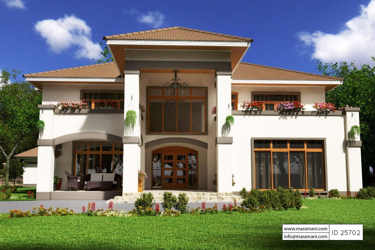 Best 5 Bedroom House Plan Id 25702 House Plans By Maramani With Pictures