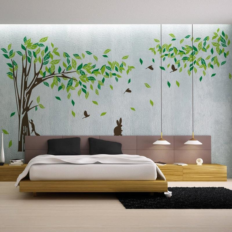 Best Living Room Wall Decals Bedroom Wall Sticker Tv Background With Pictures