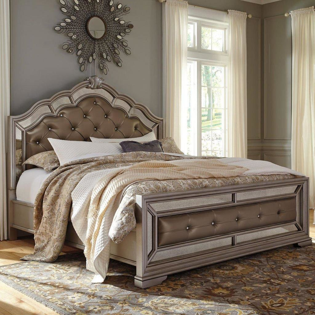 Best Birlanny Upholstered Bed – Jennifer Furniture With Pictures