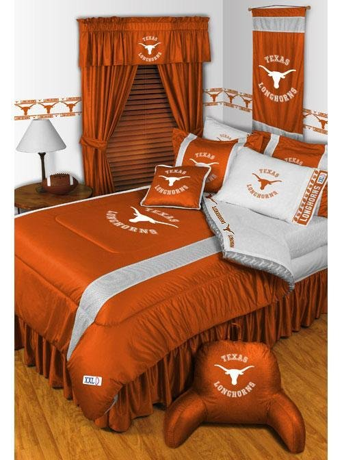 Best Ncaa Texas Bedding Longhorns Comforter Sets College Sheets With Pictures
