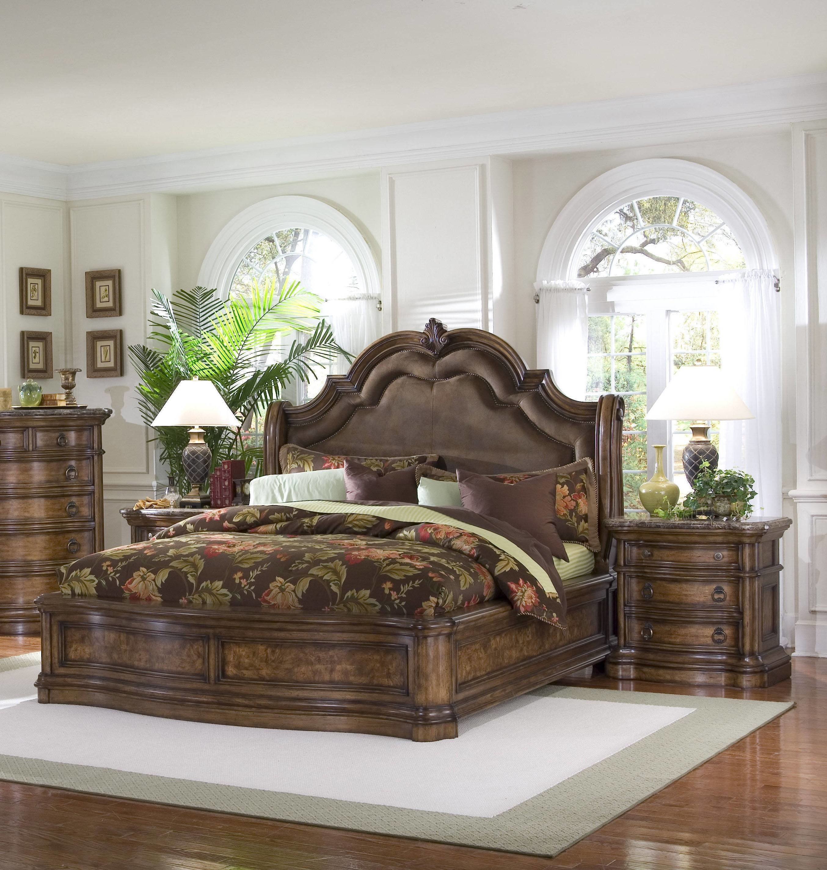 Best Pulaski Furniture San Mateo Brown 2Pc Bedroom Set With Cal With Pictures