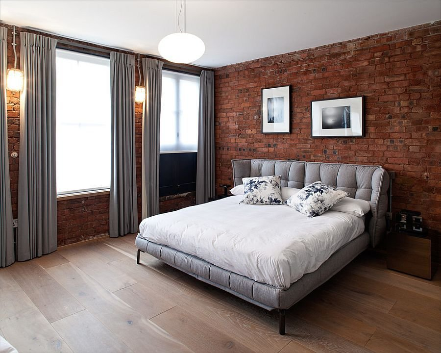 Best 50 Delightful And Cozy Bedrooms With Brick Walls With Pictures