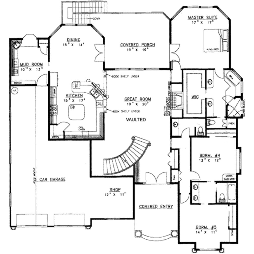Best Traditional Style House Plan 8 Beds 6 00 Baths 6271 Sq With Pictures