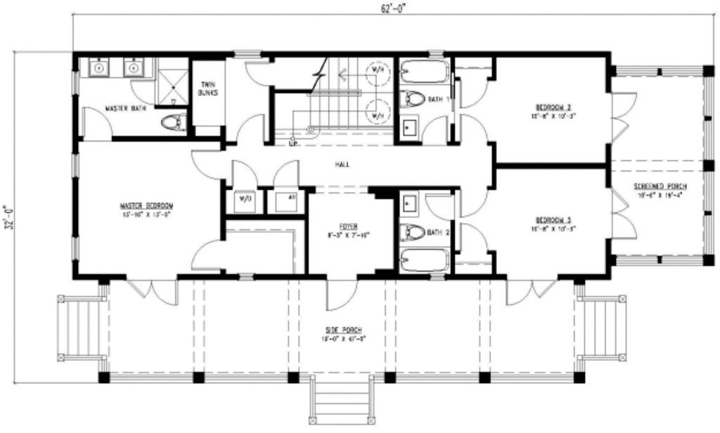 Best Beach Style House Plan 3 Beds 4 00 Baths 2201 Sq Ft Plan With Pictures