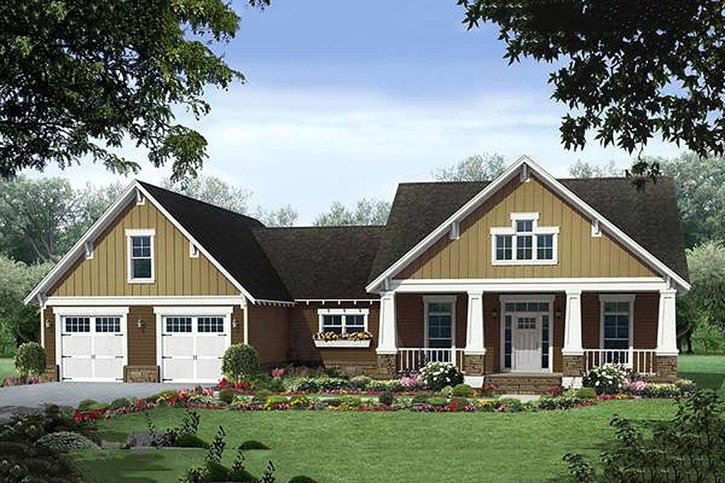 Best Craftsman Style House Plan 3 Beds 2 Baths 1940 Sq Ft With Pictures