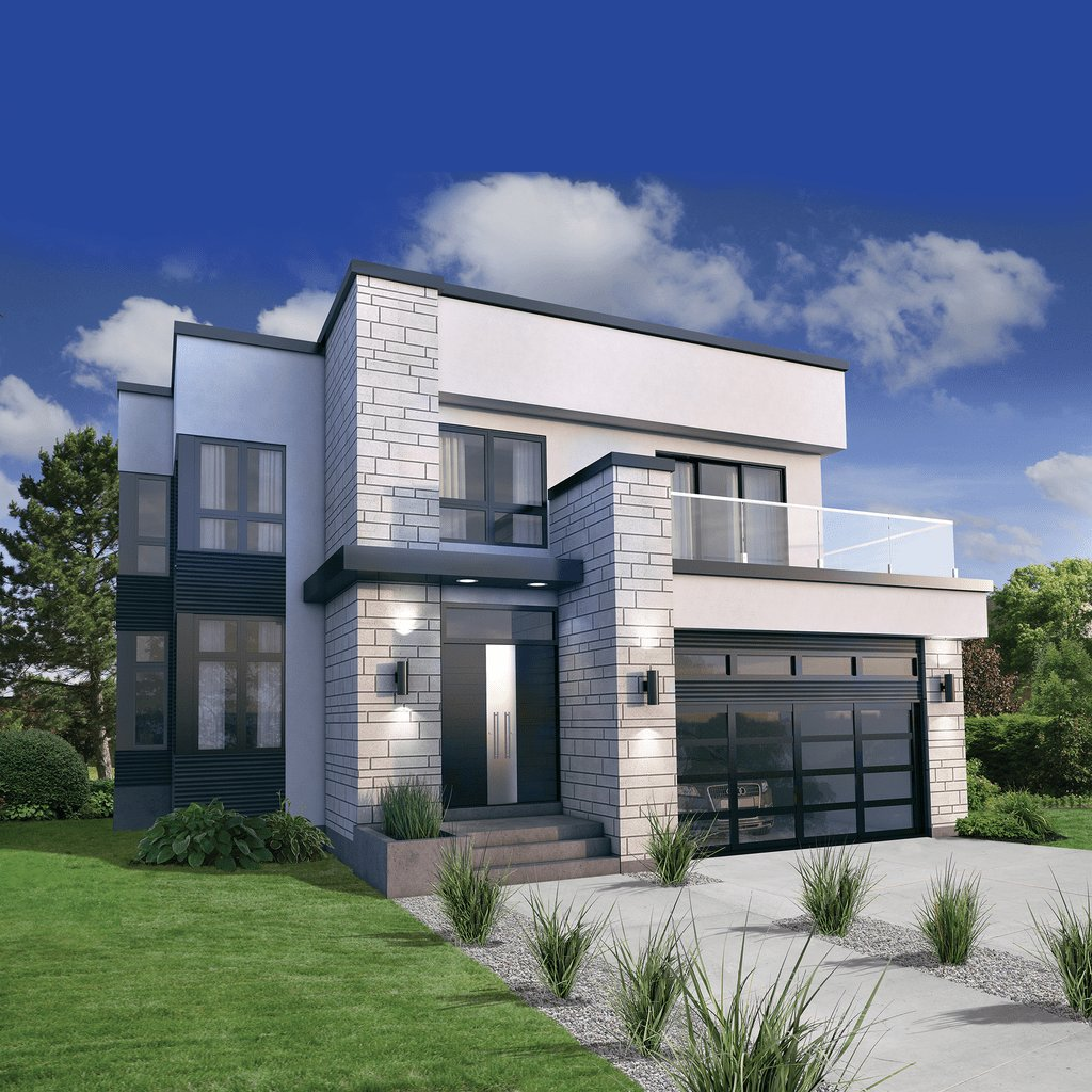 Best Modern Style House Plan 3 Beds 2 5 Baths 2370 Sq Ft Plan With Pictures
