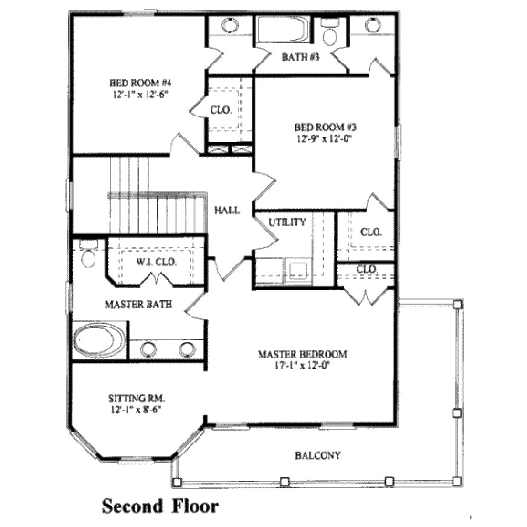 Best Southern Style House Plan 4 Beds 3 00 Baths 2269 Sq Ft Plan 325 180 With Pictures