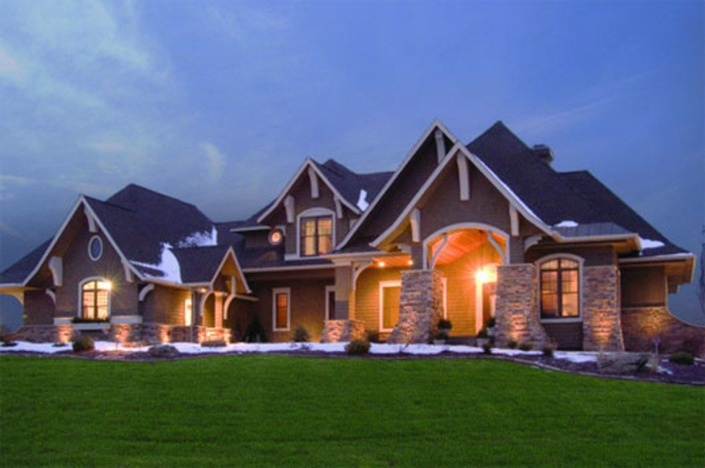 Best Craftsman Style House Plan 5 Beds 4 Baths 5077 Sq Ft Plan 56 592 With Pictures