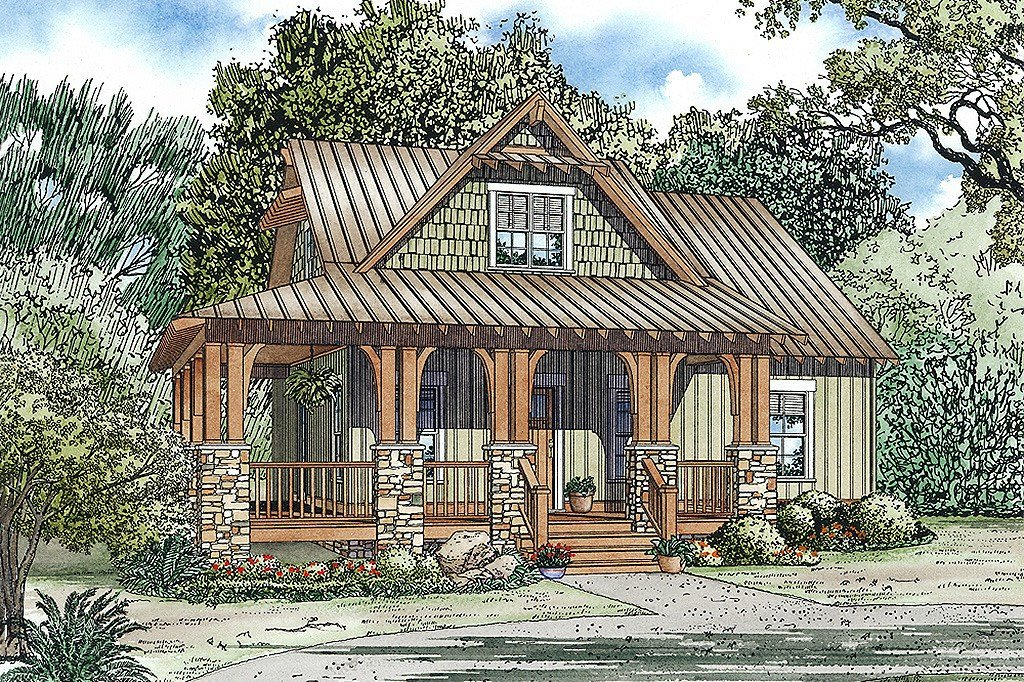 Best Craftsman Style House Plan 3 Beds 2 Baths 1374 Sq Ft With Pictures