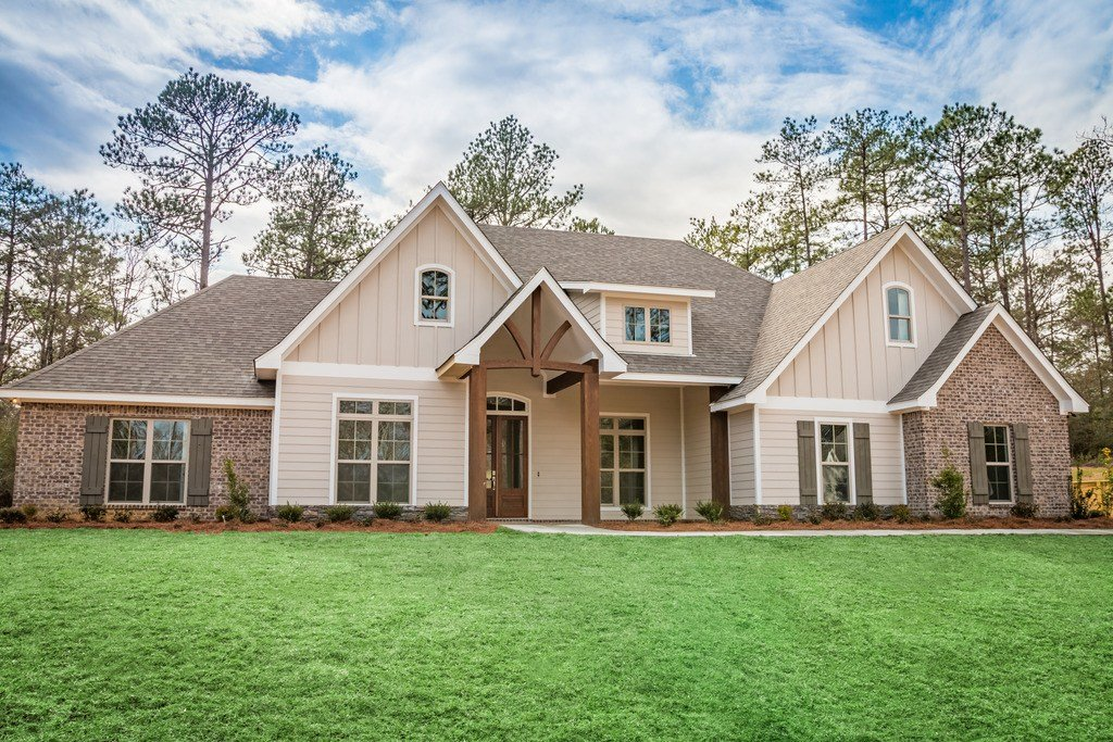 Best Craftsman Style House Plan 4 Beds 2 50 Baths 2641 Sq Ft With Pictures