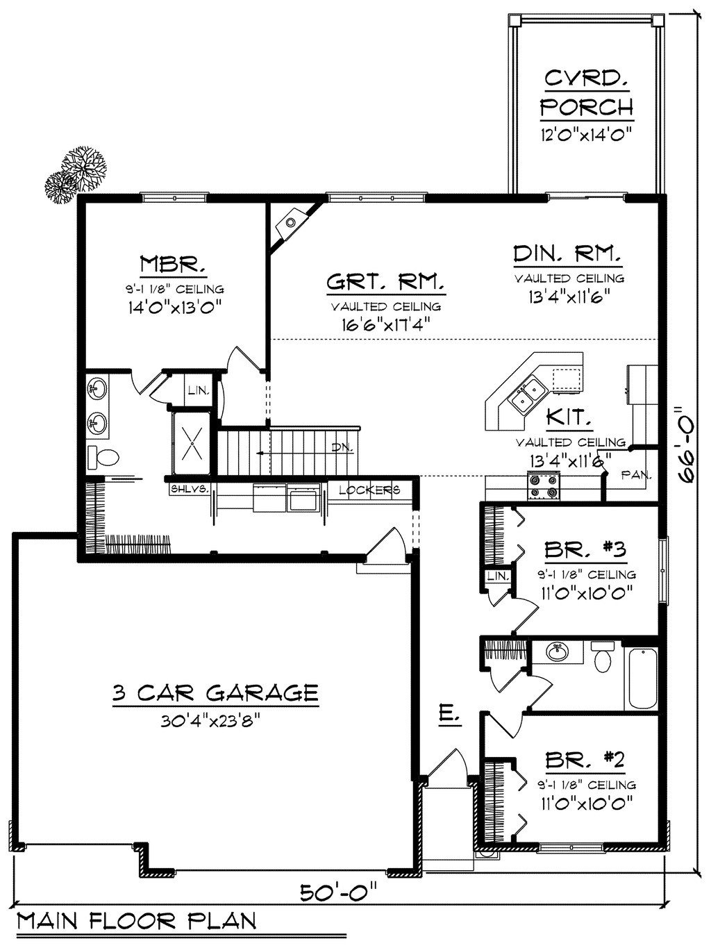 Best Ranch Style House Plan 3 Beds 2 00 Baths 1660 Sq Ft Plan With Pictures