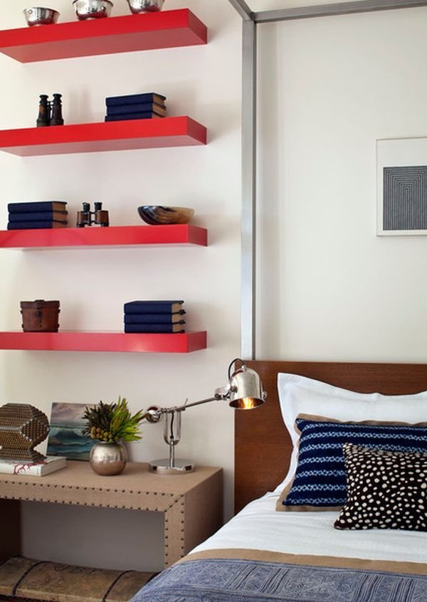 Best Simple Functional And Space Saving Floating Wall Shelving With Pictures