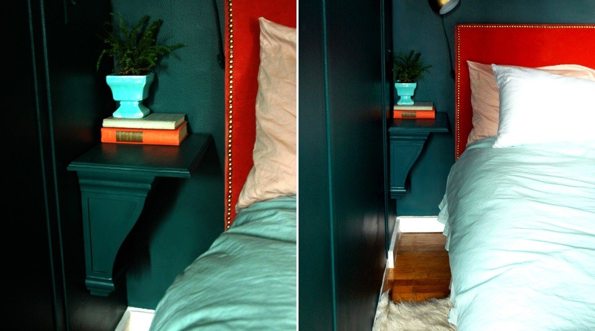 Best Small Nightstand Designs That Fit In Tiny Bedrooms With Pictures