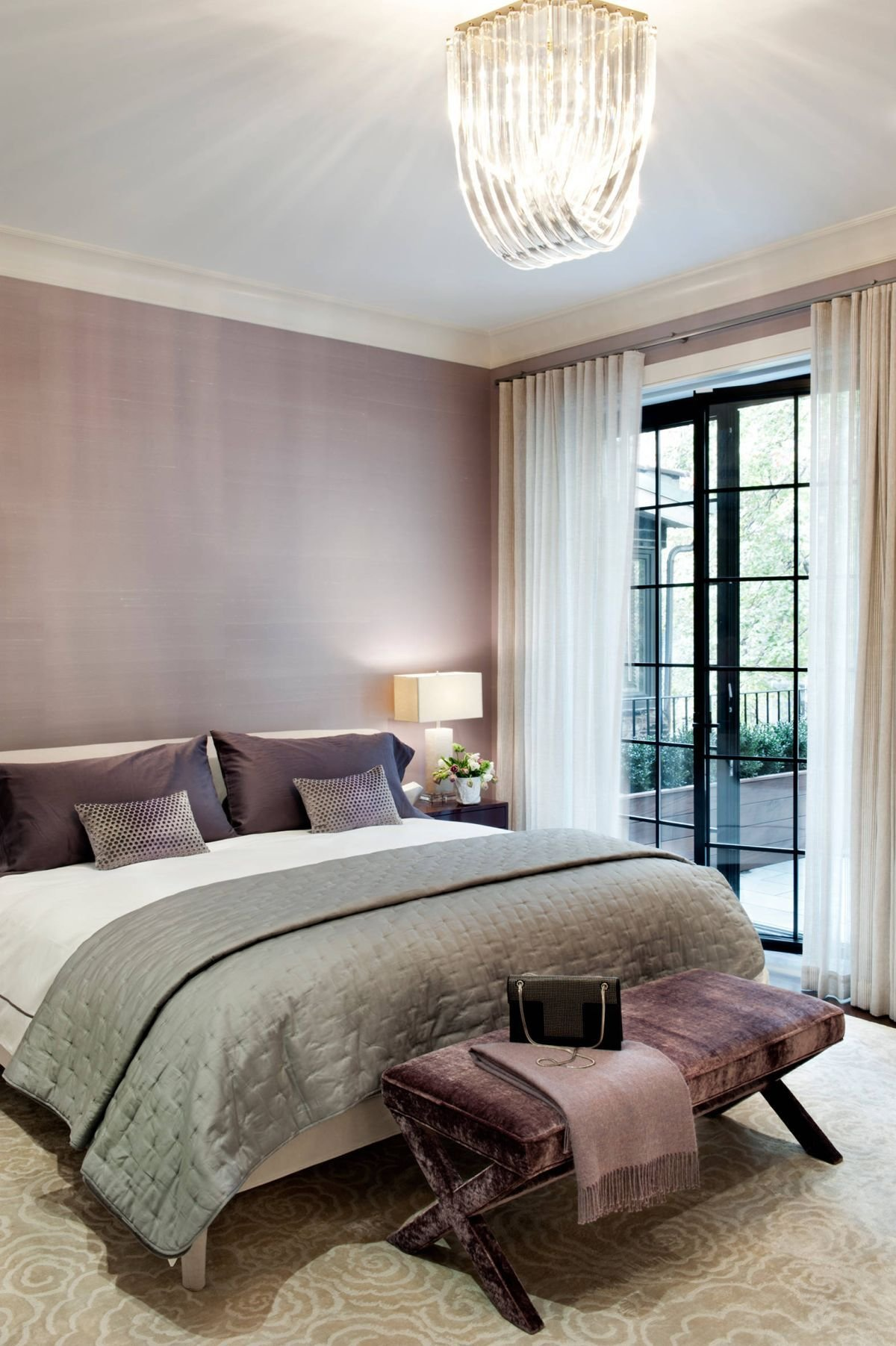 Best 10 Bedrooms To Inspire You To Go Lavender With Pictures