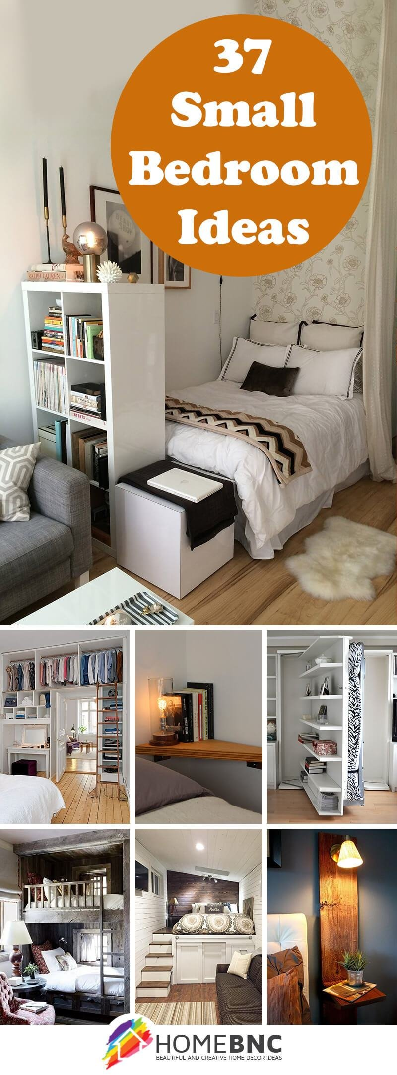 Best 37 Best Small Bedroom Ideas And Designs For 2017 With Pictures