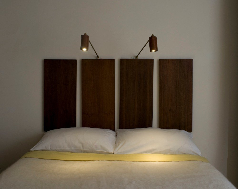Best Mahogany Led Bedside Reading Light With Pictures