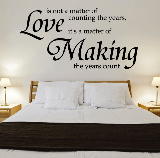 Best 10 Most Romantic Wall Decal Love Quotes For Your Bedroom With Pictures
