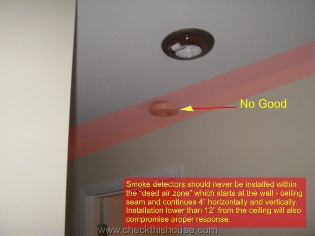 Best Where To Install Smoke Alarm Detector Proper Smoke Alarm With Pictures