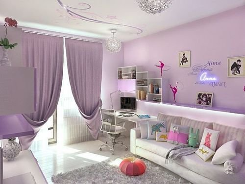 Best Purple Dance Themed Room Shared By Splashofcolors With Pictures