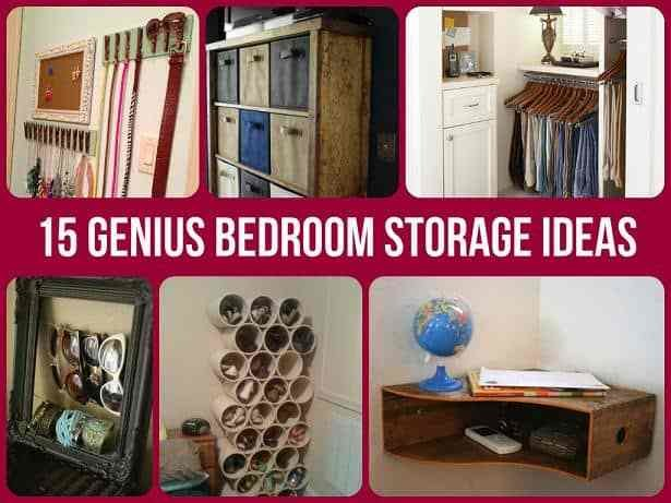 Best Brilliantly Clever Bedroom Storage Hacks With Pictures