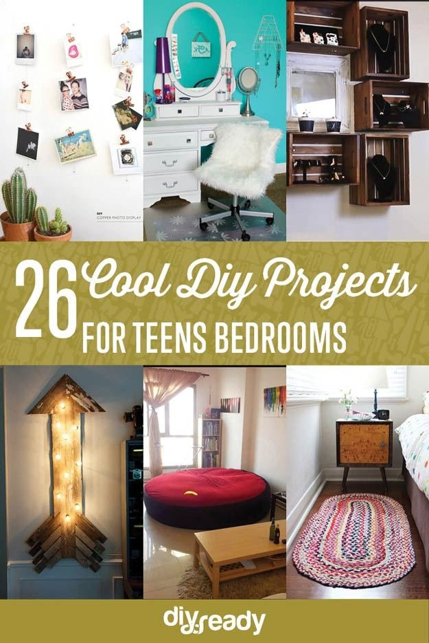 Best 26 Cool Diy Projects For Teens Bedroom Diy Projects Diy And Crafts With Pictures