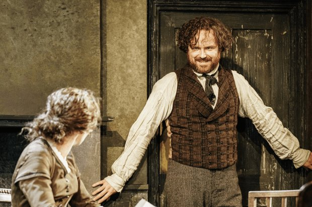 Best Review Young Marx At Bridge Theatre Exeunt Magazine With Pictures