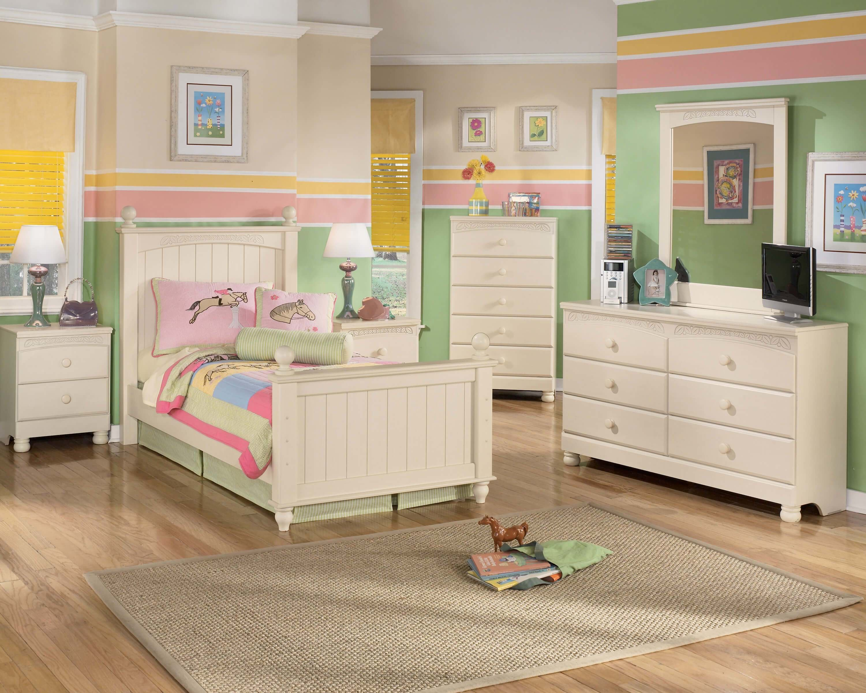 Best Cottage Retreat Ashley Bedroom Set Kids Bedroom Sets With Pictures