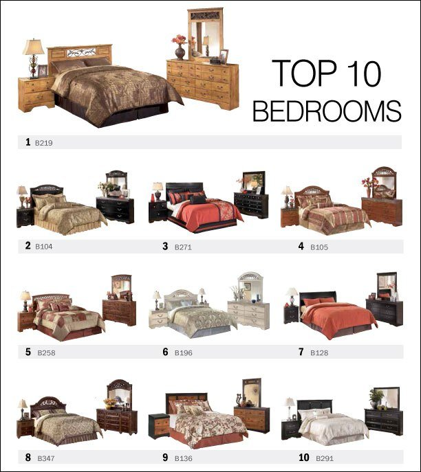 Best Top 10 Bedroom Sets By Ashley Furniture Spring 2013 With Pictures