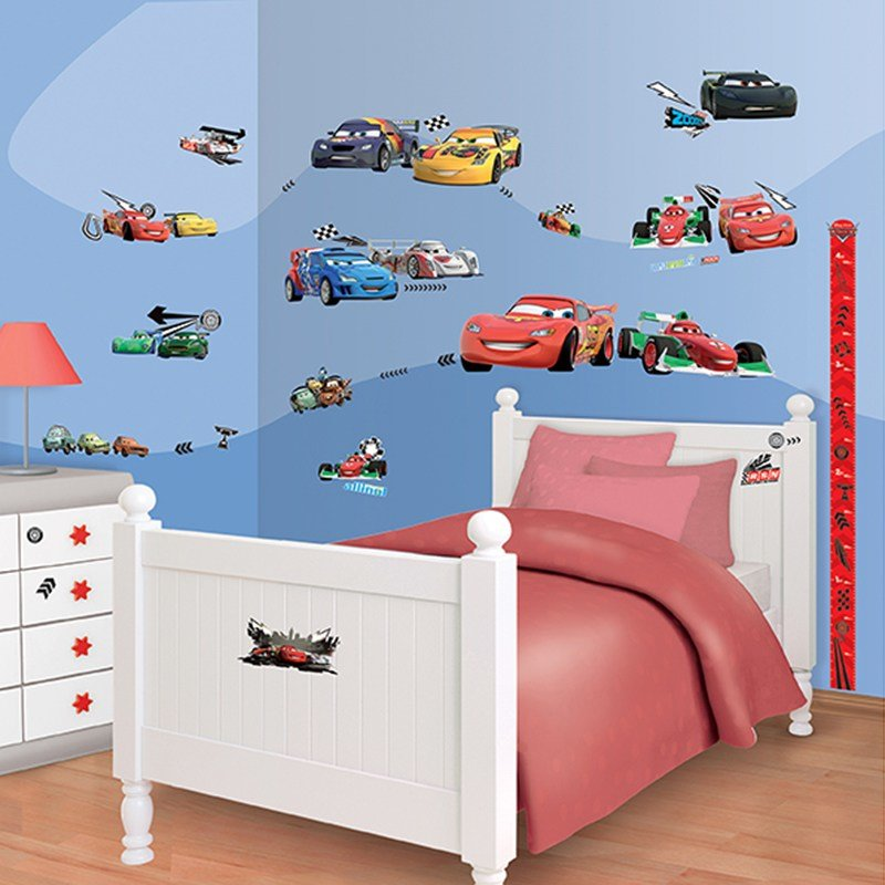 Best Walltastic Disney Cars Room Decor Kit With Pictures