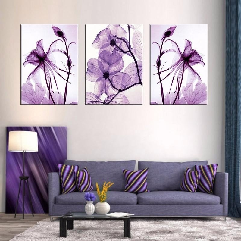Best 20 Photos Purple Wall Art For Bedroom Wall Art Ideas With Pictures