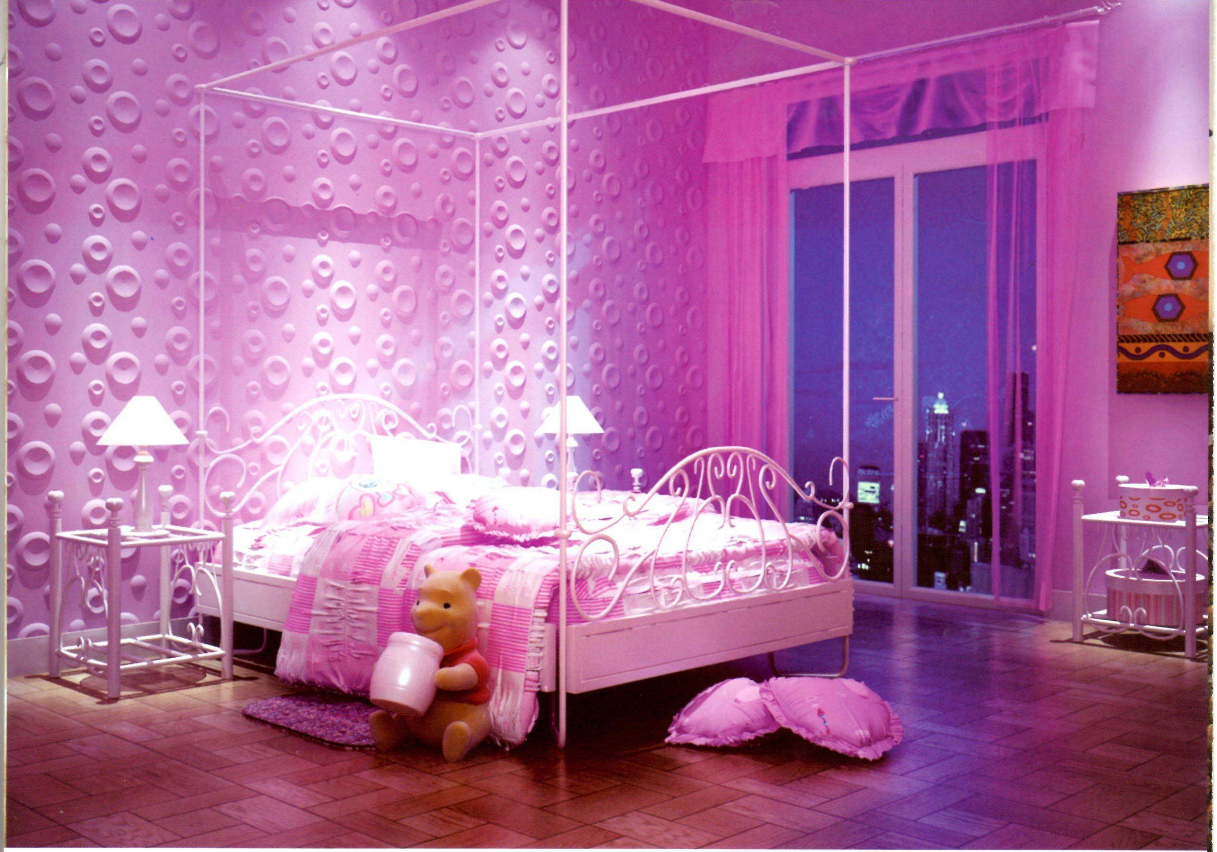Best Interior Home Bedroom Over Light Wallpaper Ideas With Pictures