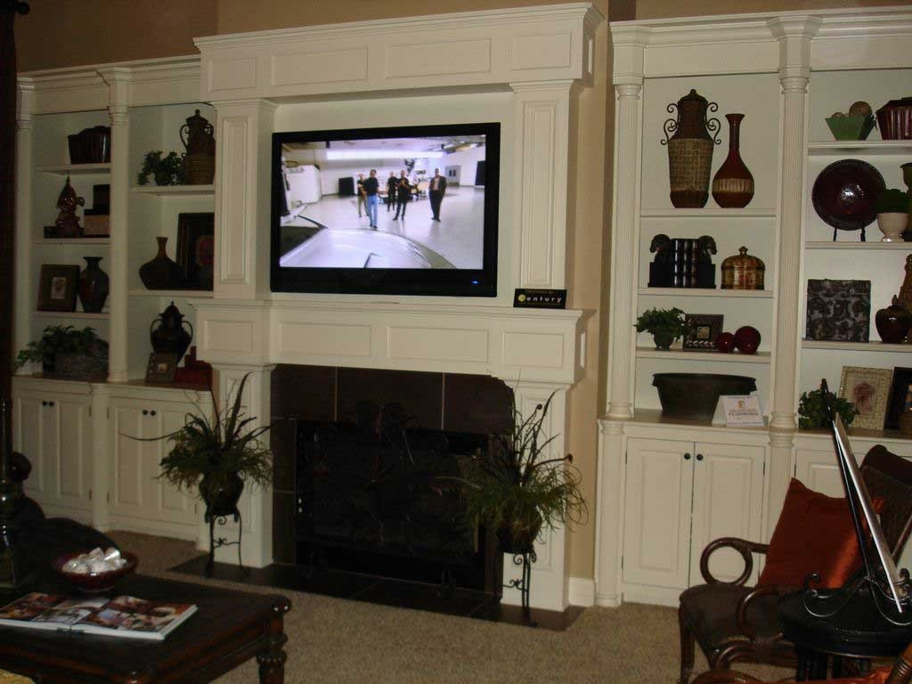 Best Tv Over Fireplace Design Some Problems On Pros And Cons With Pictures