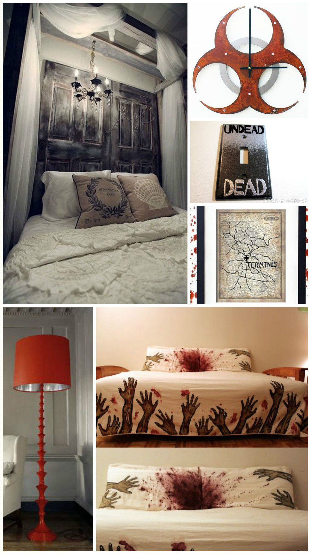 Best How To Be A Chic Walking Dead Fan Horror Home Decor With Pictures