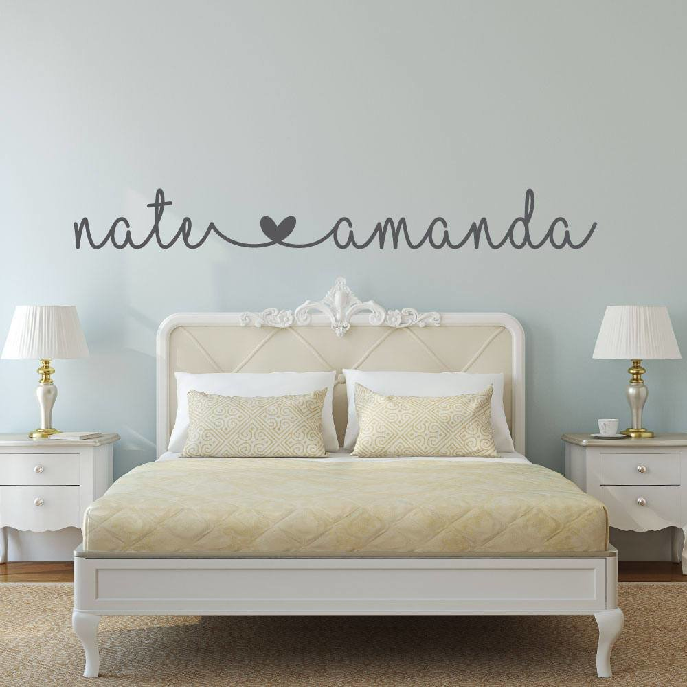 Best Name Decal Name Stickers Bedroom Wall Decal Bedroom With Pictures
