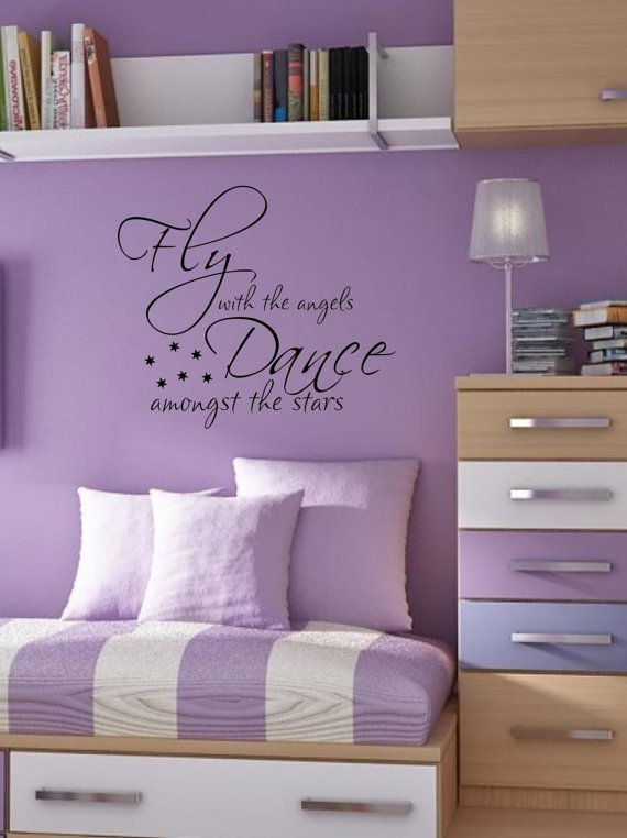 Best Dance Amongst The Stars T**N Kids Bedroom Vinyl Wall Decal With Pictures