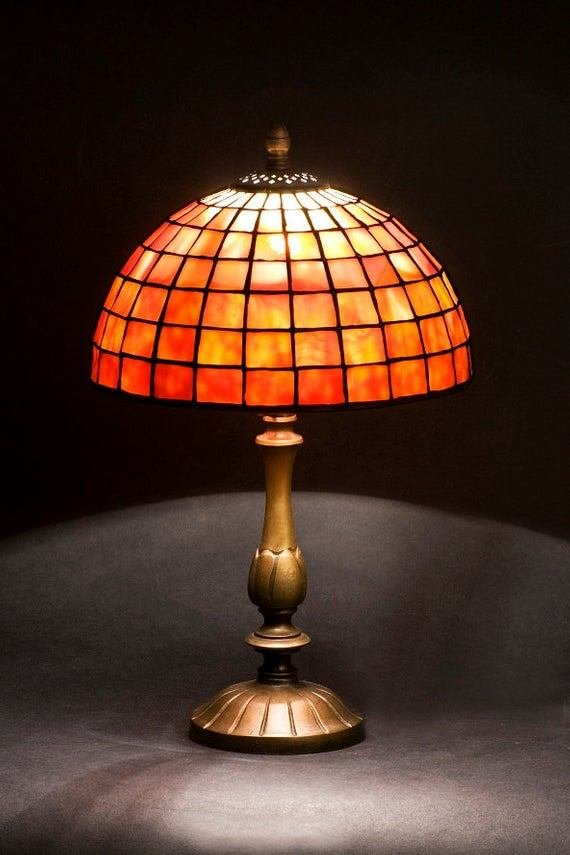 Best Nightstand Lamp Bedside Lamp Bedroom Lamp Stained Glass With Pictures