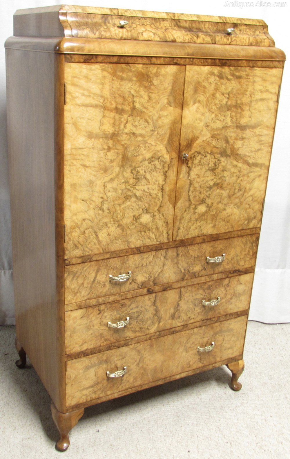 Best Burr Walnut Bedroom Chest Of Drawers Antiques Atlas With Pictures
