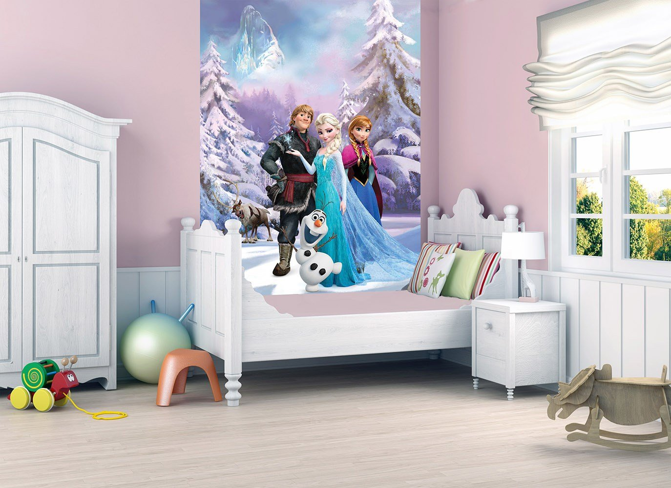 Best Official Children Kids Disney Frozen Deco Wall Mural With Pictures