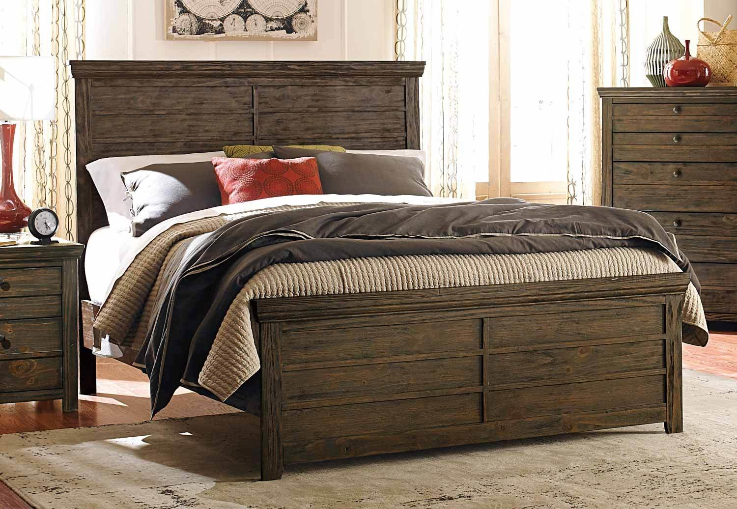 Best Homelegance Hardwin Bedroom Set Weathered Grey Rustic With Pictures