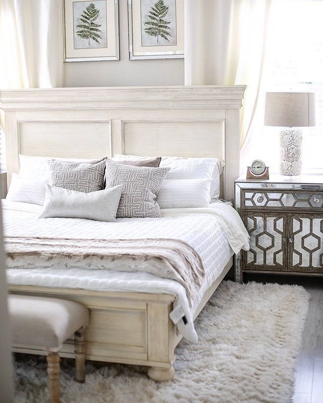 Best Marsilona Queen Panel Bed Ashley Furniture Homestore With Pictures