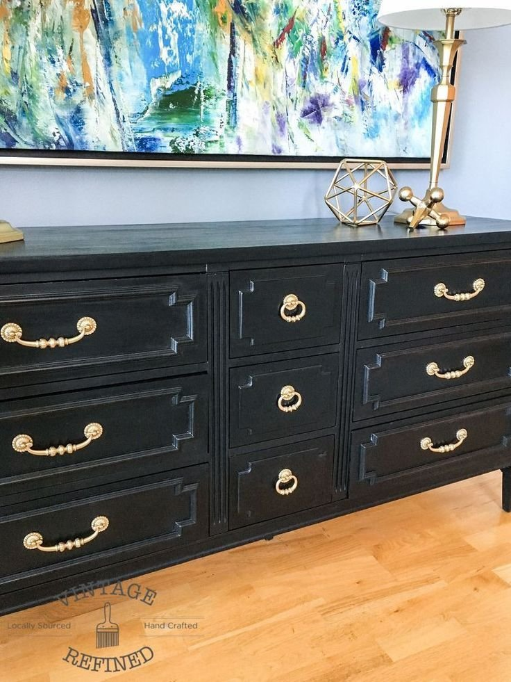 Best 25 Black Painted Dressers Ideas On Pinterest Diy With Pictures