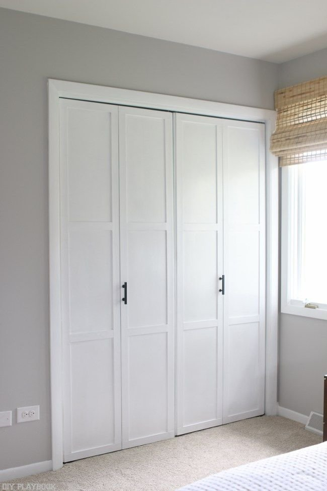 Best Closet Door Makeover On A Budget Bloggers Best Diy Ideas Closet Door Makeover Bedroom With Pictures