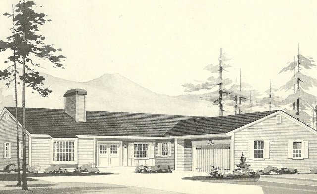 Free L Shaped Ranch Southwood House Plans Vintage House Wallpaper