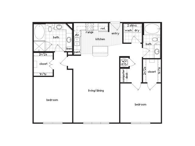 Best 36Sixty Floor Plans 1 2 Bedroom Luxury Apartments With Pictures